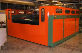 LONGITUD. + TRANSVERSAL CUTTING UNIT mod. LF.LC-200 - Mecatex Srl